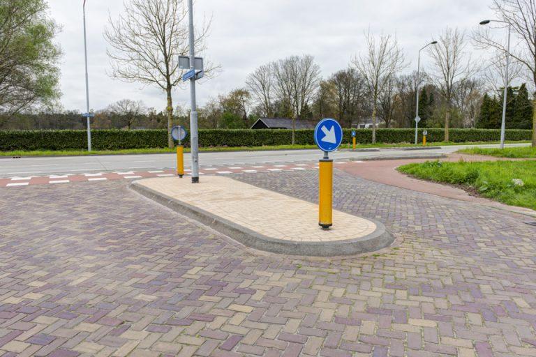 Gemeente Oisterwijk rotondes en midden-geleiders duurzaam onkruidvrij