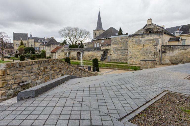 Centrum Valkenburg straten, pleinen en park duurzaam onkruidvrij